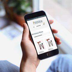 Webshop ontwerp mobiel